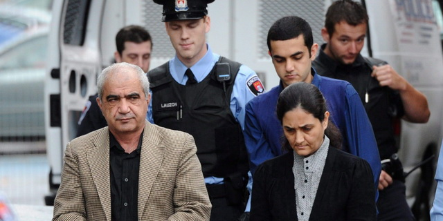 Mohammad Shafia, his wife Tooba, and their son Hamed, Afghan family came to Canada in 2007, murdered 3 daughters and first wife in June 2009