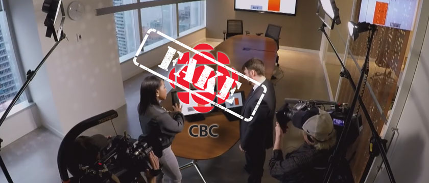 "Divisive CBC Marketplace race baiting prank: this is ""Fake News"""