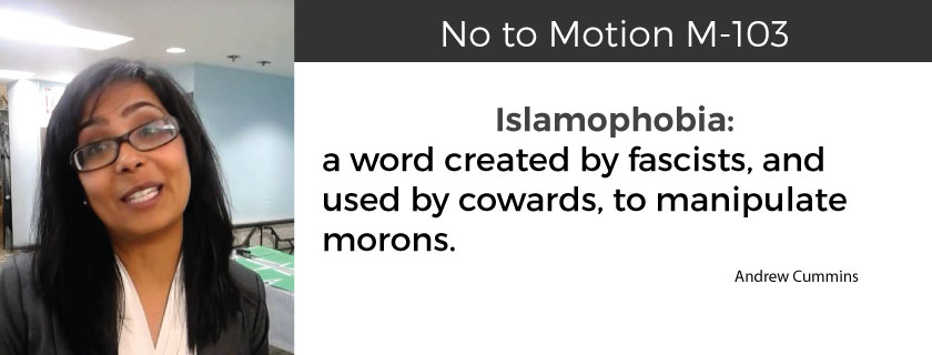"""Islamophobia"" Motion M-103: Divisive Identity Politics and Why You Should Care"